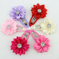 Bright Girls Sunflowers Hair Clips Accessories Hairpins for Kids Baby*-*