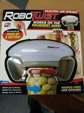 RoboTwist  Hands Free Electric Jar and Bottle Opener Kitchen Gadget