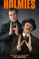 Holmes and Watson Movie Poster Wall Art Photo 8x10 11x17 16x20 22x28 24x36 27x40