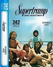 Supertramp  rare cassette tape  Saudi Arabia 747 Crisis! What Crisis!