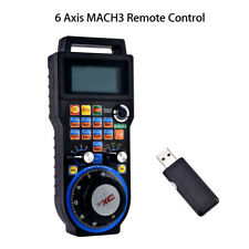 WHB04B CNC MACH3 Wireless Electronic Handwheel 6-Axis Manual Control For Craving