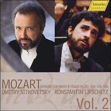 MOZART: SONATAS FOR PIANO & VIOLIN, KV 301, 306, 376, 526, VOL. 2 (NEW CD)