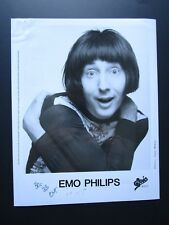 Vtg Glossy Press Photo Emo Philips Falsetto Comedian UHF, Meet the Parents #1