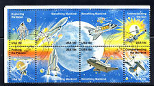stamps UNITED STATES A1299-A1306  Space Achievement; Block of 8