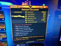 Borderlands 3 Special Weapon - Redundant Face-puncher Lvl 50 - XBOX ONE ONLY
