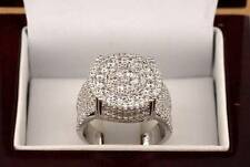 Simulated Diamond .925 Silver Mens Ring Iced Out Pinky Size 8 Fashion Style Ross