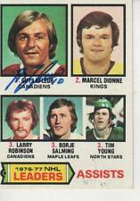 GUY LAFLEUR SIGNED 1977-78 TOPPS #2 - MONTREAL CANADIENS