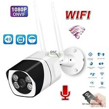 HD AI Humanoid Recognition IP Camera Wireless Wifi Waterproof Outdoor CCTV H.265