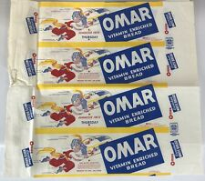 Omar Bread Wax Paper Vintage Cool Graphics 1944 Long Repeating Graphic