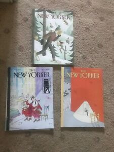 2005 New Yorker Magazine Various Issues Classic Covers