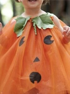 Pottery Barn Kids Pumpkin Tutu Halloween Costume Size: 12-24 Months
