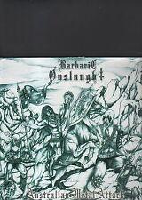 BARBARIC ONSLAUGHT - australian metal attack LP