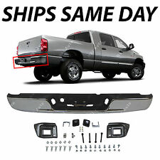 NEW Chrome - Steel Bumper Assembly Replacement for 2003-2009 Dodge RAM 2500 3500