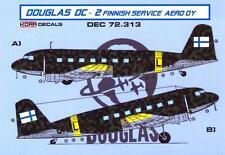 KORA Decals 1/72 DOUGLAS DC-2 IN FINNISH SERVICE