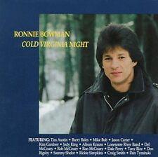 Ronnie Bowman - Cold Virginia Night [New CD]
