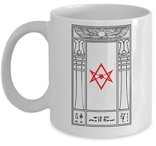 Esoteric coffee mug - Thelema portal magick - Occult accessories gift cup