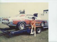 IRV  BERINGHAUS  S/S CUDA  NHRA   8X12     DRAG  RACING PHOTO