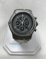 a1029 Original EBEL Swiss Luxury Chronograph Automatic Stainless Steel Watch