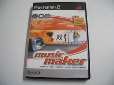 Music Maker - Music & Video Creation More Than A Game!     (Playstation 2)