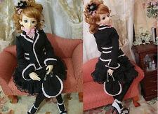 1/4 BJD MSD MDD girl doll outfit dress set dollfie dream luts SEN-84MD ship US