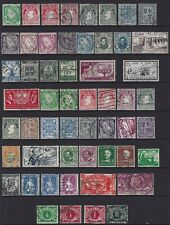 54 IRELAND IRISH EIRE USED POSTAGE STAMPS EARLIER ISSUES.