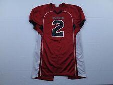 Pirates Teamwork Athletic Apparel Mens Football Jersey Sz M Red Black Long Pads