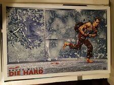 Chris Weston DIE HARD Movie Poster Print Art Bruce Willis