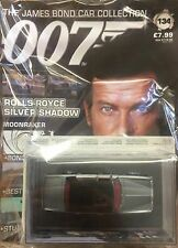 JAMES BOND CAR COLLECTION #134 ROLLS ROYCE SILVER SHADOW - NEW (MORE INSTOCK)