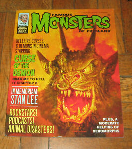 FAMOUS MONSTERS OF FILMLAND  # 291  OCT. 2019