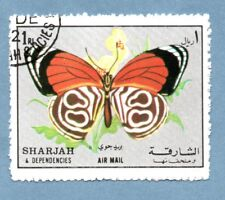 SHARJAH stamp 1972 Butterfly (1 stamp)