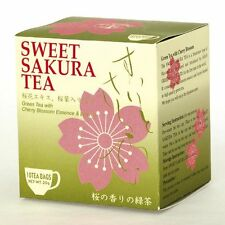 Tea Boutique - SWEET SAKURA TEA (Green Tea w/ Cherry Blossom Essence) - 10 Bags