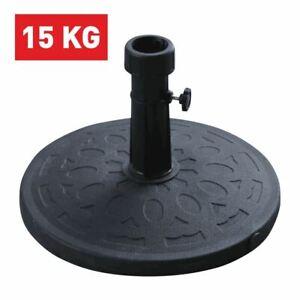 Base per Ombrellone da Giardino in Ferro Tubo da 38 a 48 mm 15 kg