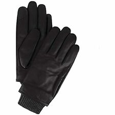 MSRP $88 Calvin Klein Men's Leather Gloves Dusk Size Medium