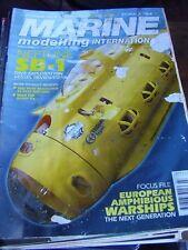 MODEL BOATS MARINE MODELLING MARCH 2008 NEPTUNE WOODBRIDGE WIZZARD RNLB SCOUT