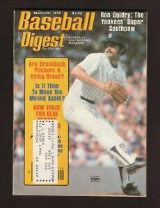 Ron Guidry--New York Yankees--1978 Baseball Digest