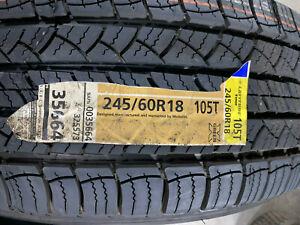 1 New 245 60 18 Michelin Latitude Tour Tire