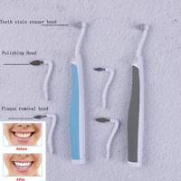 SonicLED dental tooth stain eraser teeth polisher whitener stain plaqueRemoverGW