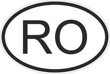 Adesivo adesivi sticker codice auto moto ritagliato nazioni ovale romania