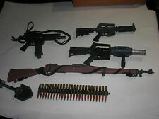lot of 6 misc Toy Guns accessories GI Joe Vintage Rifle 21st Century toys