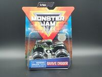 2019 SPIN MASTER MONSTER JAM MONSTER TRUCK MIX 4 GRAVE DIGGER 1:64 SCALE