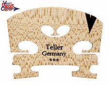 Teller *** Violin Bridge 1/2  Ebony  Insert  Fitted