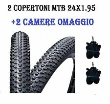2 Copertoni Bici 26 Nero + 2 Camere Bicicletta 26x1 3/8 Olanda City Bike Gomme