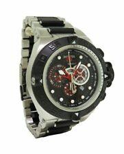 Invicta Subaqua Noma IV 6550 Men's Red Black Chronograph Date Round Analog Watch