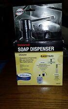 Danco  Chrome Universal soap Dispenser  new in box