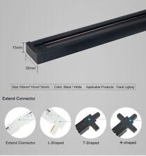 5M/10M Universal Track Rail 2-Line Orbit Strip Track Lighting Fitting Spot Light