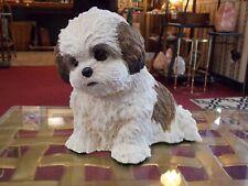 """Danbury Mint """"Li'L Shih Tzu Pup"""" Puppy Figurine Statue"""