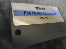 RARE Vintage Yamaha FM MUSIC COMPOSER YRM-101 cartridge ONLY For CX5M & MSX