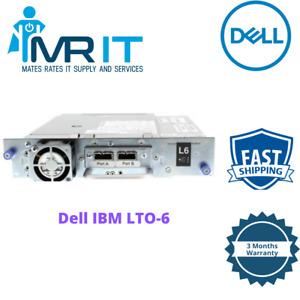 Dell IBM LTO-6 Half Height DP SAS Tape Drive TKC16 12X4407 35P1980 LTO6 HH SAS
