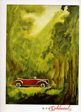 Opel -- Admiral --- Poster--Plakat -Farbe-