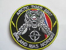 ARTIC TIGER 2007- Good Quality - Embroidered Iron or Sew On  Patch -P071